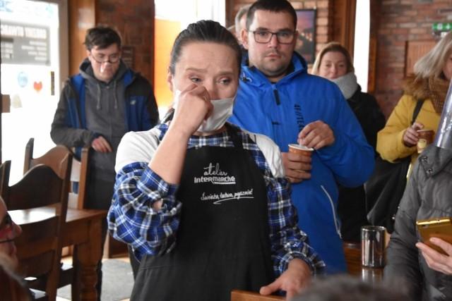 Właścicielka restauracji Bogusława Prosół zdecydowała się otworzyć swój lokal w akcie desperacji.
