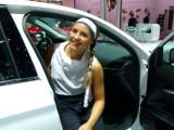 Paryż 2016. Dziewczyny salonu samochodowego