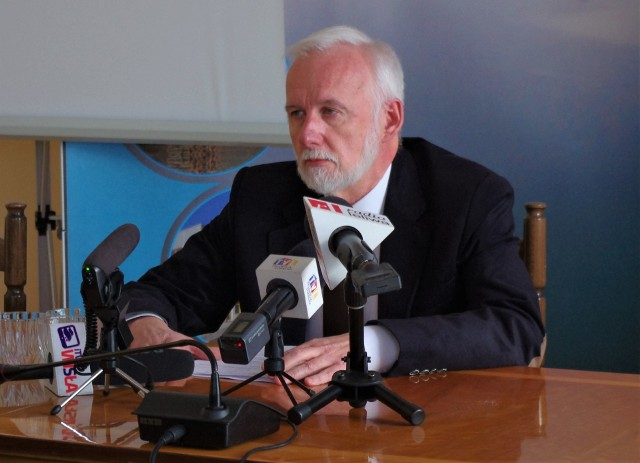 Prezydent Tarnobrzega Dariusz Bożek