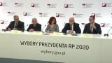 """Oficjalne wyniki wyborów prezydenckich 2020. PKW: """"Podajemy nieoficjalne, cząstkowe wyniki (...) Brakuje 9 protokołów"""". Transmisja na żywo"""