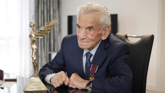 Stanisław Kowalski - 110-letni Ambasador Dobrych Praktyk w Sporcie 2020
