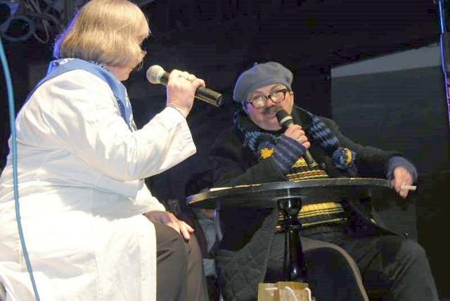 """Kabaret """"To tu to tam"""" jest wizytówką uniwersytetu - dzięki występom wiele osób dowiaduje się o działalności seniorów."""