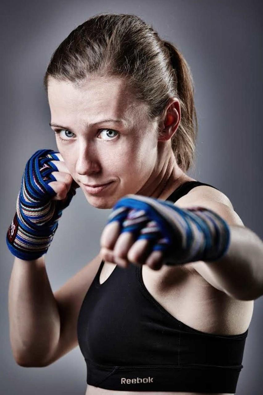 Magdalena Kasprzyk uprawia boks tajski od dziewięciu lat
