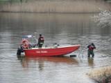 Strażacy zostali wezwani nad Wisłę. W Bydgoszczy wyłowiono zwłoki mężczyzny