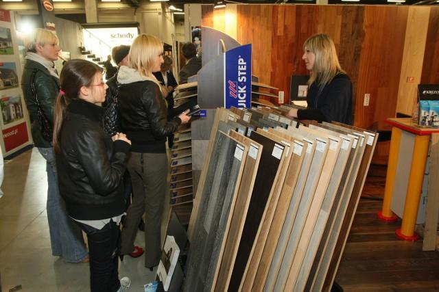 Targi PIĘKNE WNĘTRZE będą bardziej specjalistyczne od wiosennej wystawy DOM (na zdjęciu) i mają się skupić tylko na tym co potrzebne do urządzenia domu lub mieszkania. fot. Dawid Łukasik