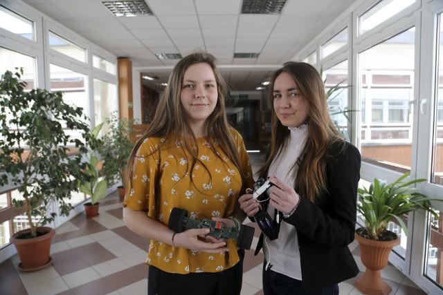 Agnieszka Ostrowska i Zuzanna Głowacka pracują nad systemem, który pozwoli szybko zdiagnozować stan naszego zdrowia i np. wykryć chorobę.