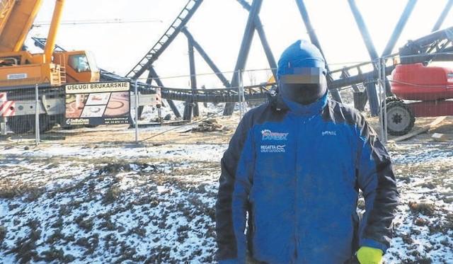 Nasz dziennikarz zdołał zrobić zdjęcie napastnika, zanim ten zaatakował go podczas pracy