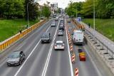 Białystok. Utrudnienia pod wiaduktem na ulicy Wasilkowskiej. Został wyłączony jeden buspas. Utrudnienia potrwają do końca czerwca