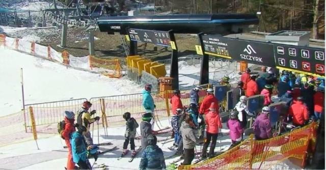 Warunki narciarskie w Beskidach są doskonałe