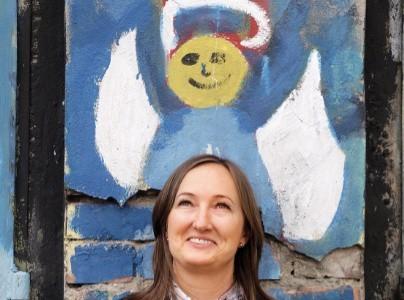"""Monika Bajka, prezes zarządu Stowarzyszenia Pomocy Dzieciom i Młodzieży """"Dom Aniołów Stróżów"""""""