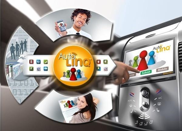 Korzystając z rozwiązania AutoLinQ kierowcy i pasażerowie będą mogli podczas jazdy połączyć się z ważnymi dla siebie mediami