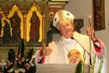 Biskup tarnowski Andrzej Jeż na odpuście u sądeckich jezuitów [ZDJĘCIA]