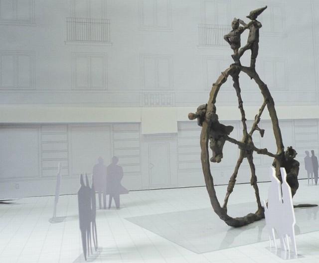 Taka rzeźba mogłaby stanąć na skwerze przed Finezją