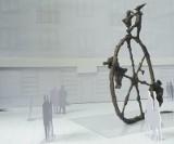 Lipowa: Koło to nowa rzeźba na skwerze przy Finezji (wizualizacja)