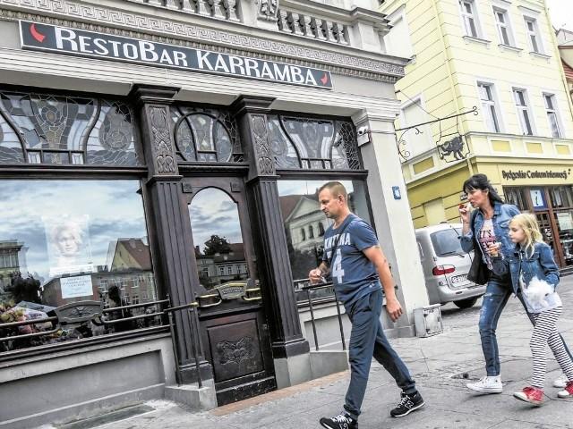 Nazwa restauracji już góruje nad dawnym Węgliszkiem. Jak się Państwu podoba?