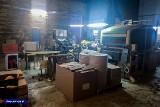 CBŚP zlikwidowało w Lubuskiem nielegalną fabrykę papierosów. Straty dla państwa szacuje się na 40 mln złotych!