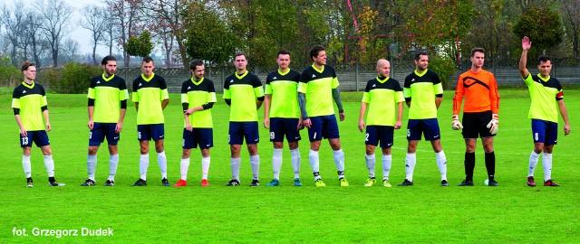 Piłkarze Szturmu Junikowo grają w lidze okręgowej.