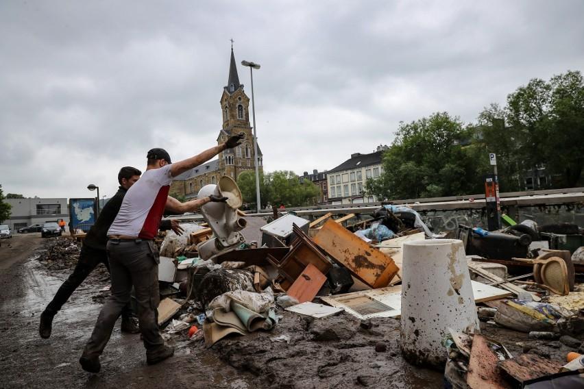 Powódź w Niemczech pochłonęła ponad 100 ofiar śmiertelnych....