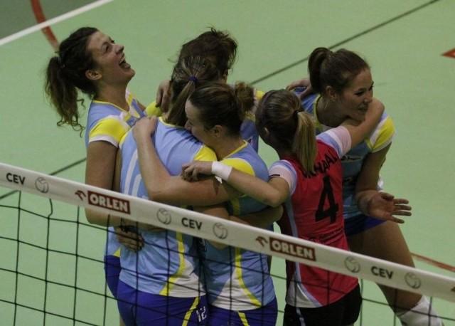 Siatkarki z Opola po meczu miały powody do zadowolenia.