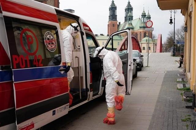 Specjalnie przygotowane karetki jeździły do pacjentów z podejrzeniem koronawirusa