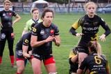 """Rugby: Black Roses Posnania zmierzyły się w sparingu z mistrzyniami Anglii. """"Czarne Róże"""" postawiły się bardziej utytułowanym rywalkom"""