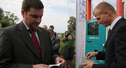 Z lewej Fabien Courtellemont, prezes zarządu Arriva PCC