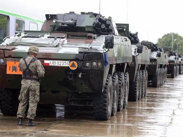Żołnierze ze szczecińskiej brygady wyjechali na ćwiczenia Anakonda-14.