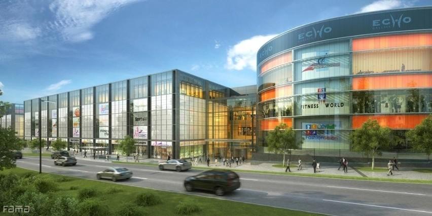 Jedną ze sztandarowych inwestycji Echa Investment jest obecnie budowana w Kielcach Galeria Echo