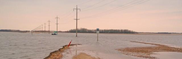 Do powiatu żarskiego zbliża się wielka woda.