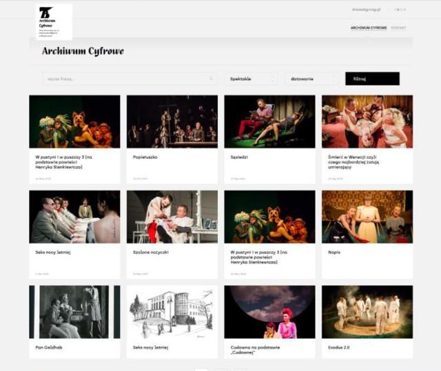Teatr Dramatyczny pracuje nad kolejnym etapem budowy Archiwum Cyfrowego. Na digitalizację swoich teatralnych zbiorów otrzymał dofinansowanie od Ministerstwa Kultury, Dziedzictwa Narodowego i Sportu, pomysł wspierają również władze województwa podlaskiego.