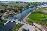 Przekop Mierzei Wiślanej. Prace przy drugiej części budowy drogi wodnej łączącej Zalew Wiślany z Zatoką Gdańską nabierają tempa