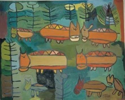 Jedna z prac Krzysztofa Gieniusza