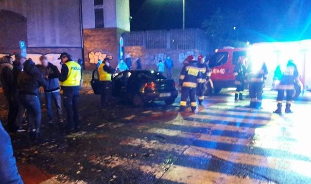 W wypadku została ranna  81-letnia kobieta