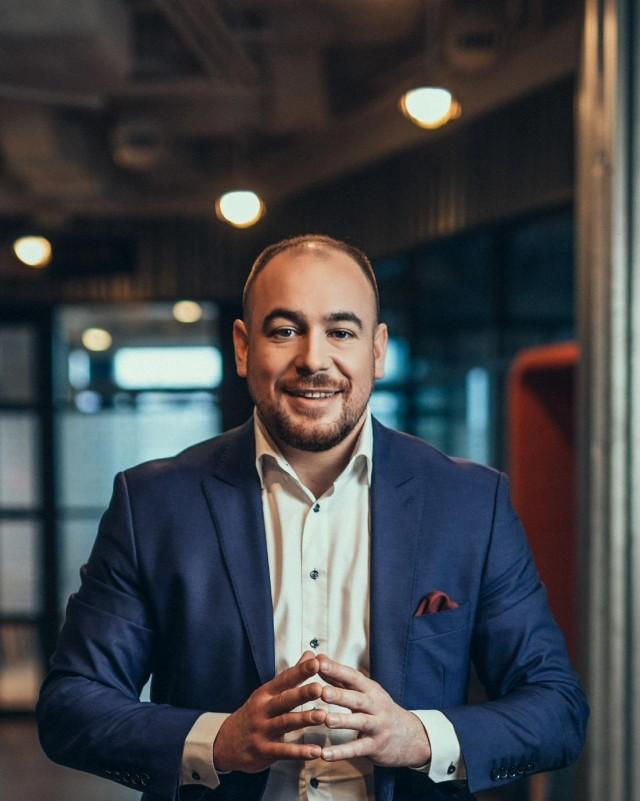 Artur Beck, producent i organizator Szczytu Klimatycznego TOGETAIR, prezes Fundacji Pozytywnych Idei