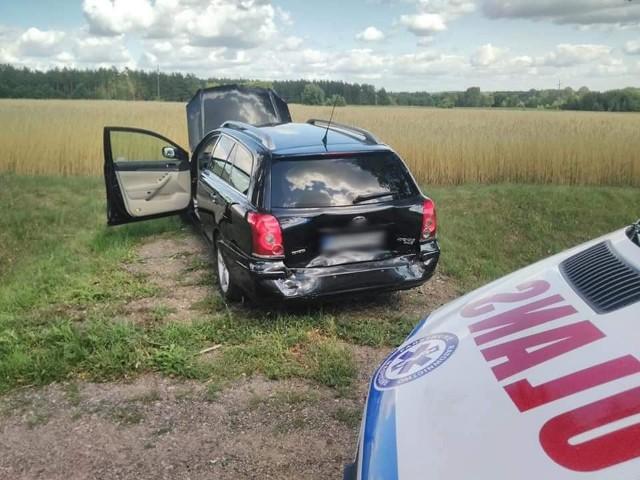 We wtorek o godzinie 15. strażacy z OSP Suchowola zostali zadysponowani do kolizji dwóch aut osobowych.