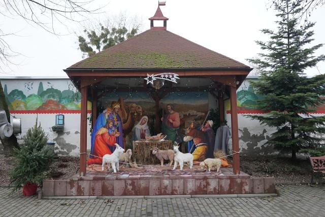 Na Topolowym Fyrtlu, czyli przy ul. Rolnej 32 w Poznaniu po raz kolejny stanęła świąteczna szopka autorstwa Jerzego Łuczaka. W tym roku oprócz figurek Maryi, Józefa i dzieciątka, można w niej podziwiać m.in. poznański akcent w postaci koziołków.  Zobacz więcej zdjęć ---->