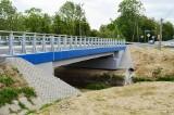 Oficjalnie otwarto most w Rogach na drodze powiatowej Krosno - Iwonicz-Zdrój. Tempo remontu było rekordowe [ZDJĘCIA]