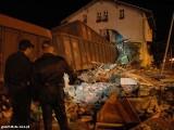 Zwierzyn k. Strzelec Krajeńskich. Wagony uderzyły w dworzec, są ofiary (zdjęcia, wideo)