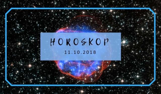 Horoskop dzienny na czwartek 11 10 2018