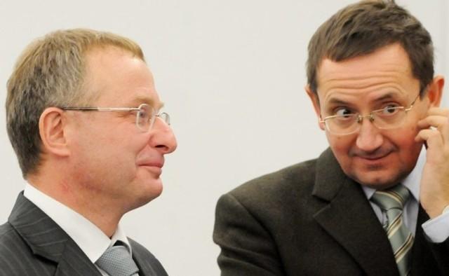 Prezesem Lubuskiego Arbitrażowego Sądu Gospodarczego został Marek Górecki (z lewej) a wiceprezesem Andrzej Kosik. Obaj są adwokatami.