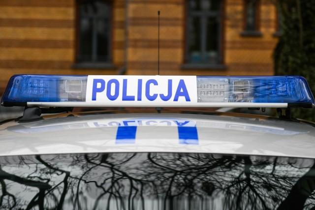 Dzięki policyjnej eskorcie samochód z ciężarną kobietą szybko dotarł do toruńskiego szpitala.