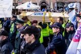 Protest policji: Policjanci spotkali się z ministrem. Co dalej z protestem?
