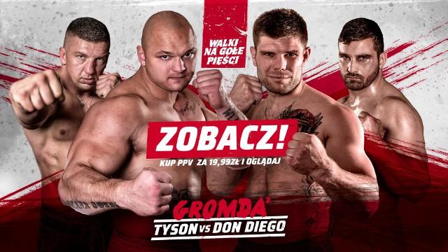 Gala GROMDA 3 - piątek, 11 grudnia 2020. Obejrzymy walkę finałową między Tysonem a Don Diego. Sprawdź, gdzie oglądać stream