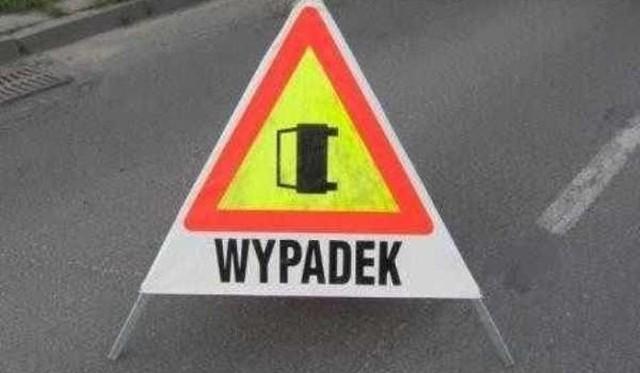Wypadek w Ostrzycach