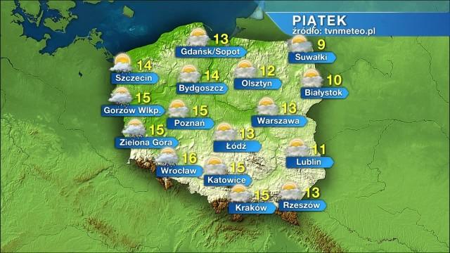 Jaka będzie pogoda w piątek, 26 marca?