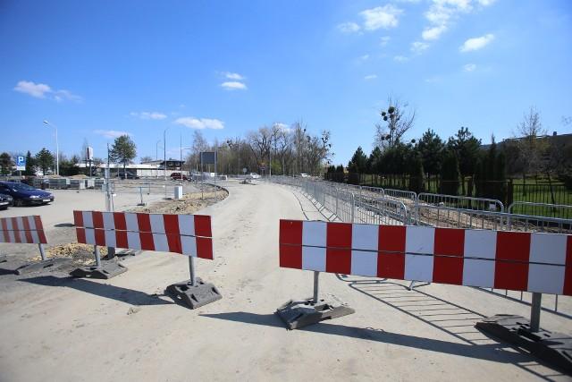 Droga wybudowana przez miasto w rejonie Nowego Nikiszowca
