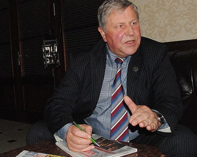 - Będziemy bronić obecnie obowiązujących przepisów - mówi Ryszard Chodynicki