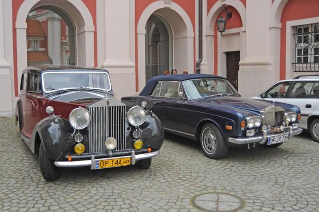 Zlot Rolls Royce i Bentley w Poznaniu
