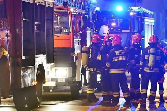 Gdy doszło do wybuchu, na miejsce wysłano 6 zastępów straży pożarnej.