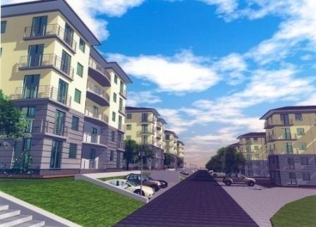 Tak mają wyglądać bloki, które spółdzielnia mieszkaniowa Bocianek, chce wybudować na terenie parku Dygasińskiego.